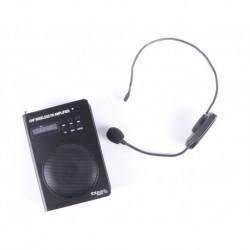 Ibiza PORT3-UHF - Petite enceinte portable 40w avec micro serre-tête UHF