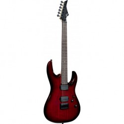 Lag A100-GRS - Guitare electrique Arkane Gothic Red Shadow