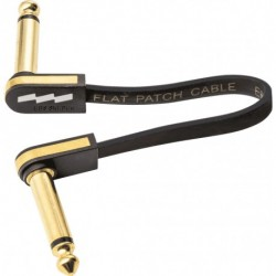 EBS PCF-PG10 - Câble de patch guitare 10 cm compact or