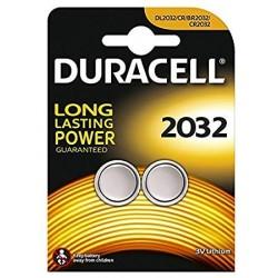 Duracell CR2032-2 - Blister de 2 piles CR2032