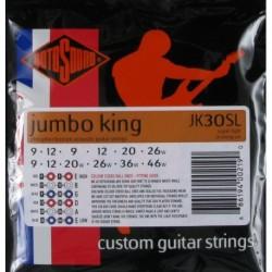 Rotosound JK30SL - Cordes phosphore bronze 9-46 pour guitare acoustique 12 cordes