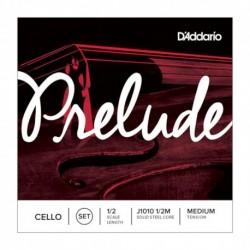 D'Addario J1010-1-2M - Jeu de cordes pour violoncelle 1/2 medium