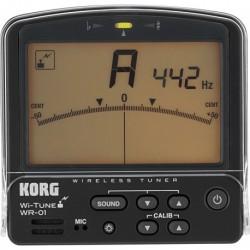 Korg WR-01S - Accordeur chromatique pour saxophone