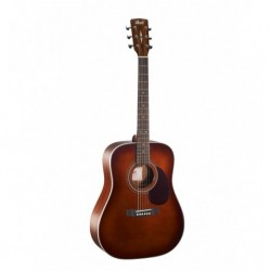 Cort E70BR - Guitare folk brown table épicéa massif