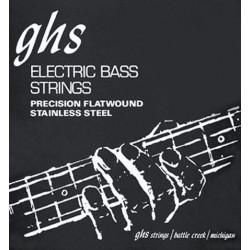 GHS 3050M - Jeu de cordes 45-105 filet plat pour basse électrique