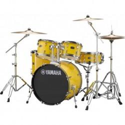 "Yamaha RDP0F5YLSET - Batterie acoustique fusion 20"" Rydeen yellow"