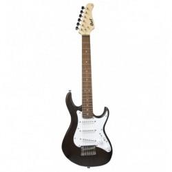 Cort G100JUOPB - Guitare electrique noire junior