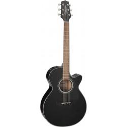 Takamine GF30CEBLK - Guitare electro-acoustique Grand Concert vernis noir