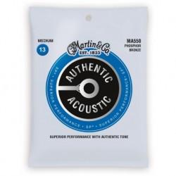 Martin & Co MA550 - jeu de cordes phosphor bronze 13-56 pour guitare acoustique