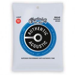 Martin & Co MA540 - jeu de cordes phosphor bronze 12-54 pour guitare acoustique