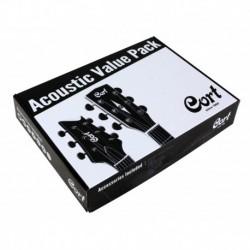 Cort ACKITAG - Pack accesoires pour guitare acoustique