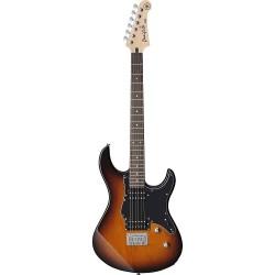 Yamaha PA120HTBS - Guitare électrique sunburst pickguard noir