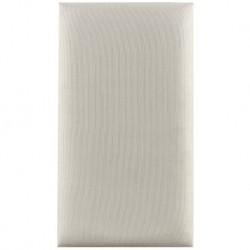 Stagg VWH - Pelotte Velours Blanc Pb40/45