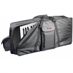 Stagg K10-130 - Housse standard en nylon noir pour clavier