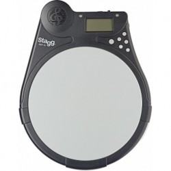 "Stagg EBT-10 - Tampon d'exercice électronique Beat Tutor - Pad 75"" (19cm) en silicone"