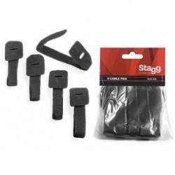 Stagg VCS-225 - 5 attaches pour câbles