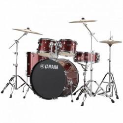 "Yamaha RDP0F5BGGCPSET - Batterie acoustique fusion 20"" Rydeen avec pack cymbales paiste 101"