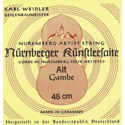 Nurnberger 645461 - Corde vielle Sol