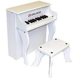 Delson 2505-WH - Piano droit enf blanc