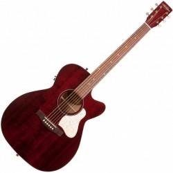 Art & Lutherie AL042357 - Guitare électro-acoustique Legacy Tennessee Red préampli QIT