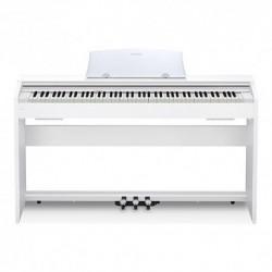 Casio PX-770WE - Piano numérique compact 88 touches avec meuble blanc