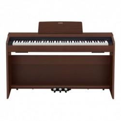Casio PX-870BN - Piano numérique compact 88 touches avec meuble brun