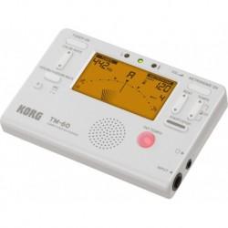 Korg TM60-WH - Accordeur metronome blanc