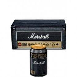 "Marshall AULAGER8X33CP-DA - 8 canettes 33cl packaging ""Tête d'ampli"""