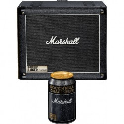 "Marshall AULAGER16X33CP-DA - 16 canettes 33cl packaging ""Baffle"""