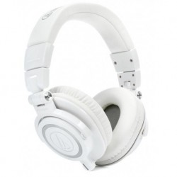 Audio Technica ATH-M50XWH - Casque fermé Pro blanc