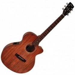 Cort SFX-MEMOP - Guitare électro-acoustique Acajou