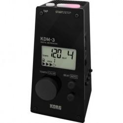 Korg KDM-3-BK - Metronome numérique noir