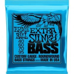 Ernie Ball 2835 - Jeu de cordes pour basse électrique 40-95