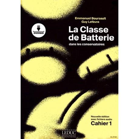 Emmanuel Boursault - La Classe de Batterie dans les Conservatoires 1 - Recueil + Enregistrement(s) en ligne