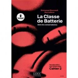 Emmanuel Boursault - La Classe de Batterie dans les Conservatoires 2 - Recueil