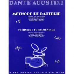 Dante Agostini - Méthode de Batterie - Volume 2 - Recueil