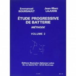 Emmanuel Boursault - Etude Progressive de Batterie 2 - Recueil