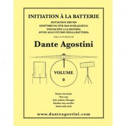 Dante Agostini - Méthode de Batterie - Volume 0 - Recueil