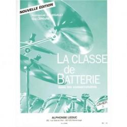 Emmanuel Boursault - La Classe de Batterie dans les Conservatoires 3 - Recueil + Partition