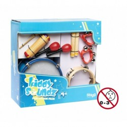 "Stagg CPK-04 - Pack de percussion pour enfants ""Kiddy Soundz"""