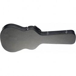 Stagg GCA-C THIN - Etui rigide pour guitare classique électro-acoustique 4/4 à caisse fine, série Basic