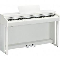 Yamaha CLP625WH - Piano numérique Clavinova blanc avec meuble