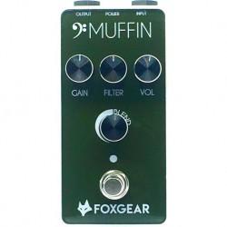 Foxgear FGBMUF - Pédale d'effet Fuzz Bass Muffin