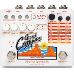 Electro Harmonix EHXGRAN - Pédale looper Grand Canyon avec effets modulation, reverb et délai