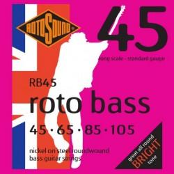 Rotosound RB45 - Jeu de cordes pour basse 45-105