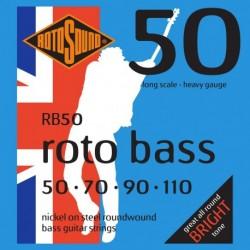 Rotosound RB50 - Jeu de cordes pour basse 50-110