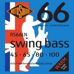 Rotosound RS66LN - Jeu de cordes nickel pour basse 45-100