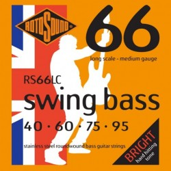 Rotosound RS66LC - Cordes pour basses Swing Bass 40-95