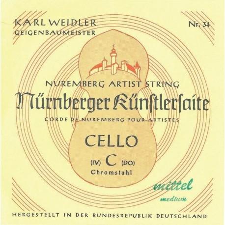 Nurnberger 639641 - Cordes Nürnberger Violoncelle Künstler 3/4