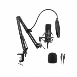 Power Studio VIBE B1 BUNDLE XLR - Pack micro XLR + Stand + Accessoires